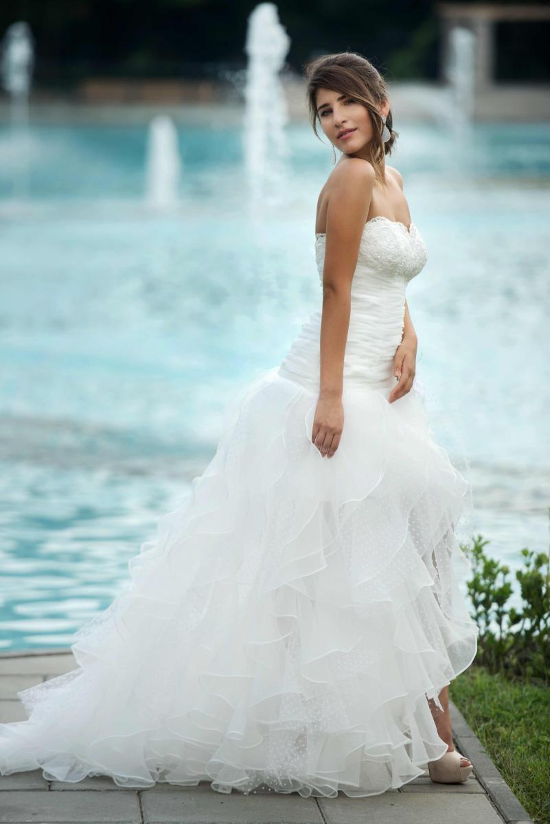 Niedlich Vestido Novia Informelle Fotos - Hochzeit Kleid Stile Ideen ...